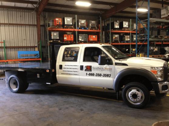 SSMP Service Truck