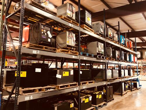 used and rental batteries