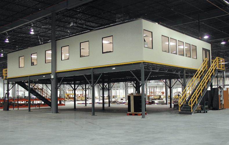 Plant Office on Top of Mezzanine