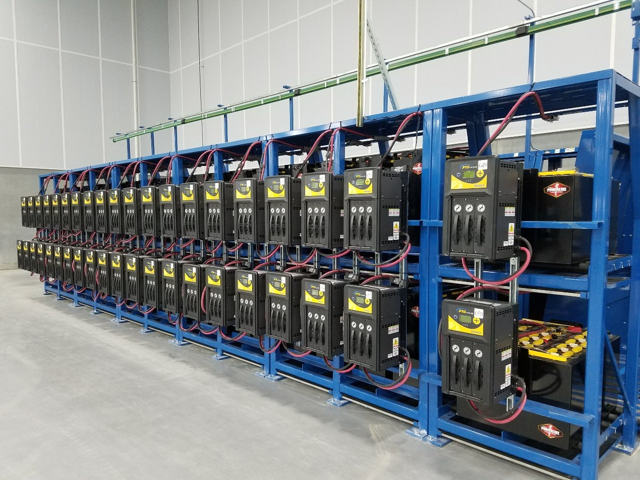 forklift batteries and chargers-sse