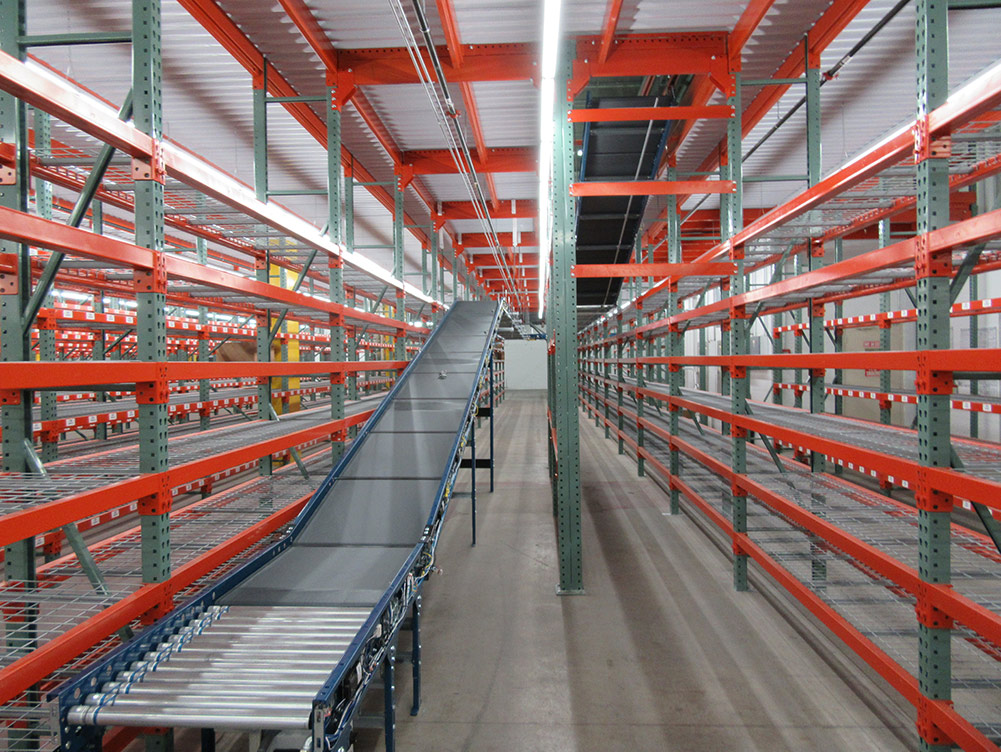 Pallet Rack Supported Mezzanine